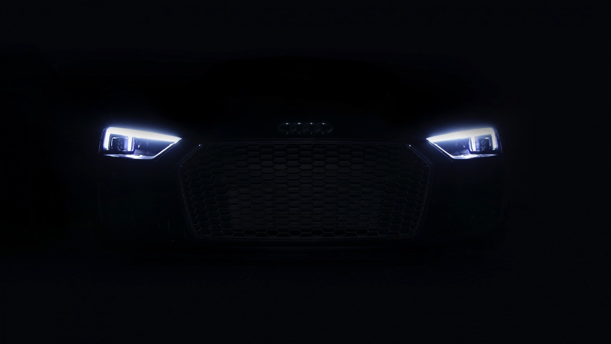 Luces láser del Audi R8 2017