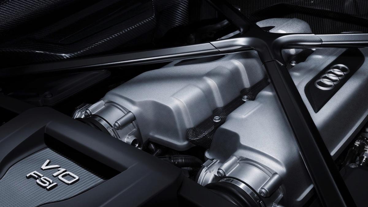 Motor del Audi R8 2017