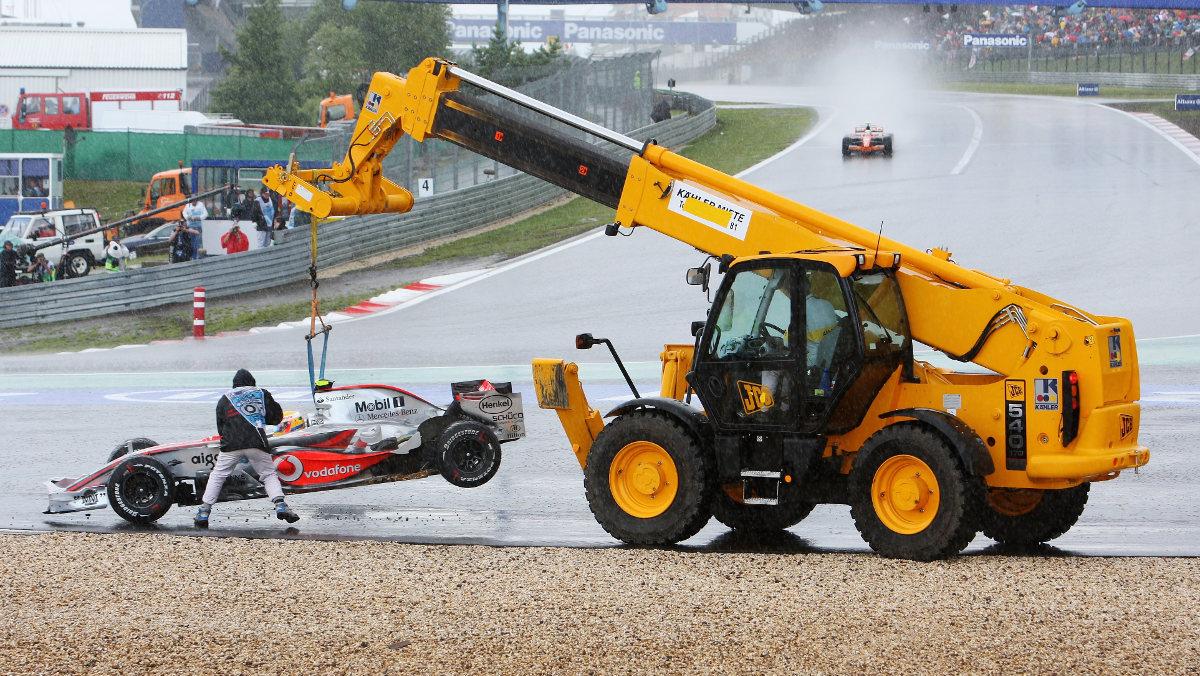 Grúa F1