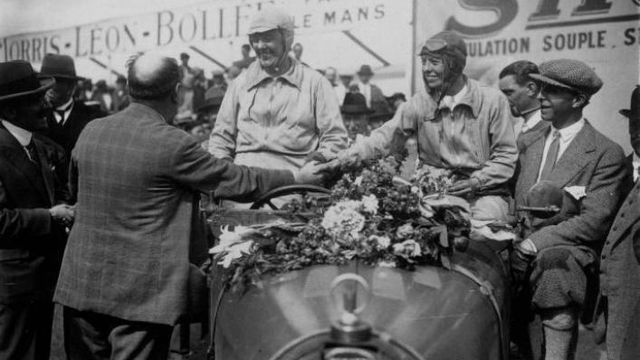 Le Mans 1930. Odette Siko y Marguerite Mareuse