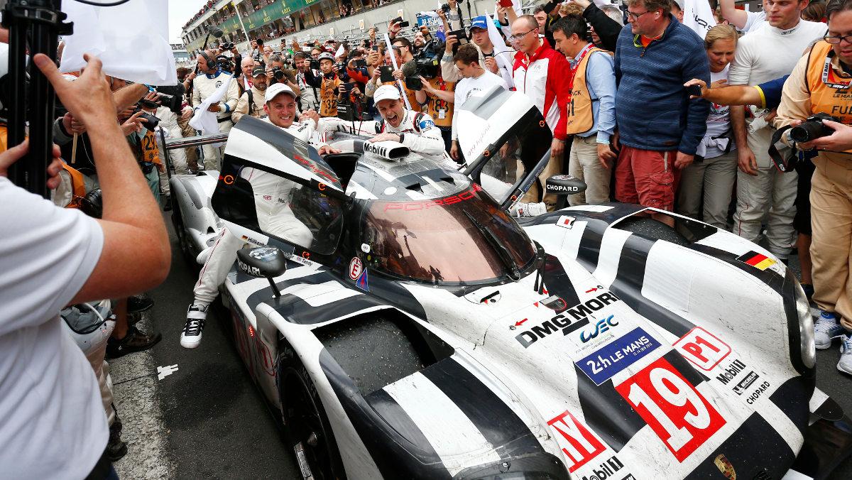 Triunfo de Porsche
