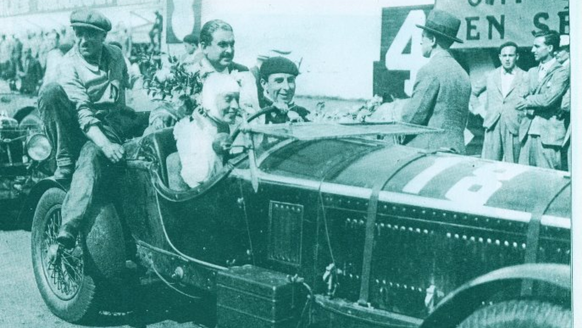 Odette Siko terminó cuarta en Le Mans 1932
