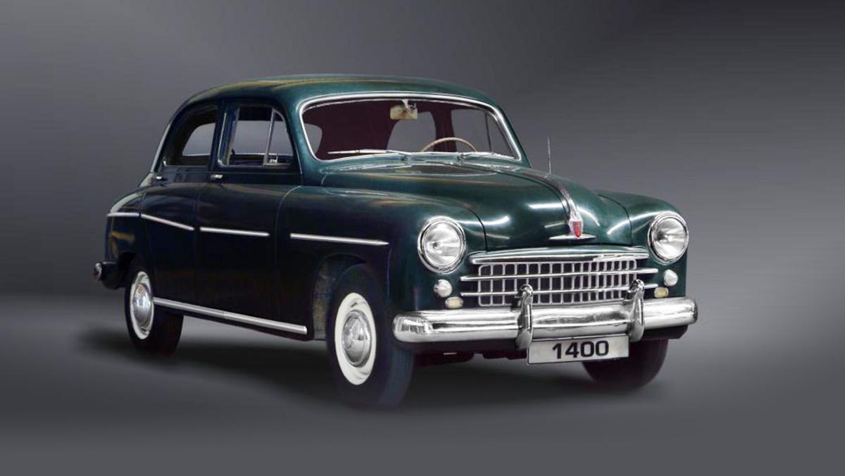 Los mejores Seat de la Historia - Seat 1400 (1953)