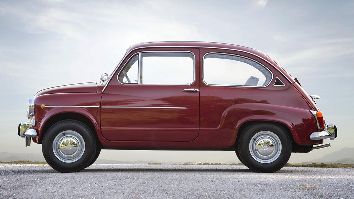 Los mejores Seat de la Historia - Seat 600 (1957)