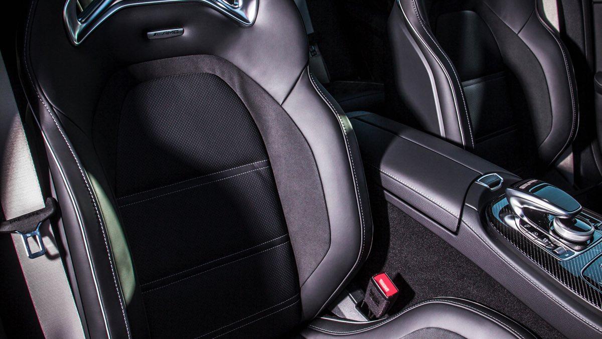 Mercedes-AMG E63 S (asientos)