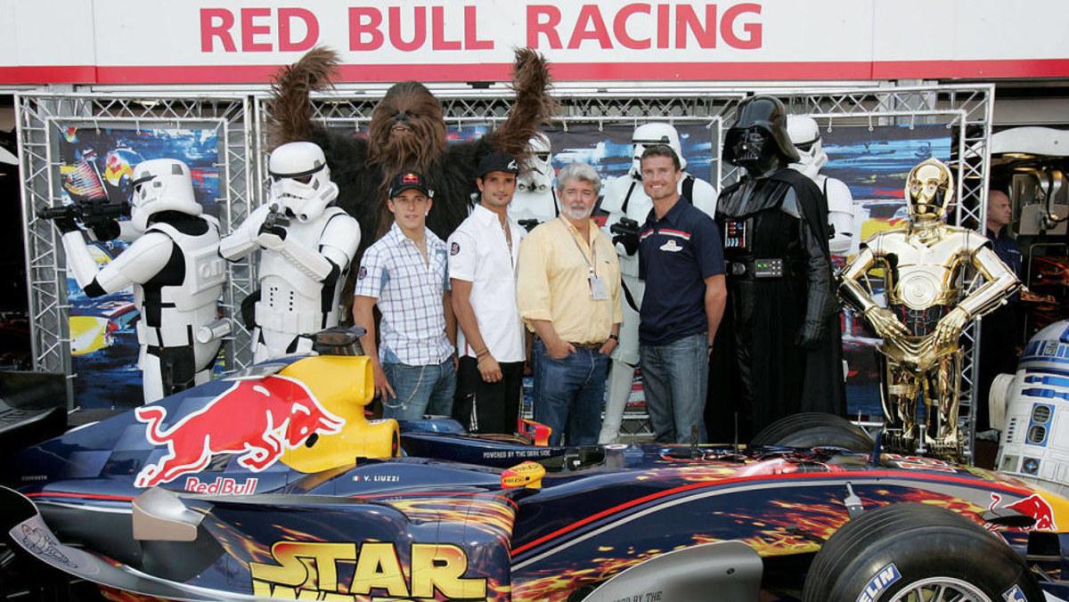 Red Bull se alía con Star Wars en Mónaco 2005