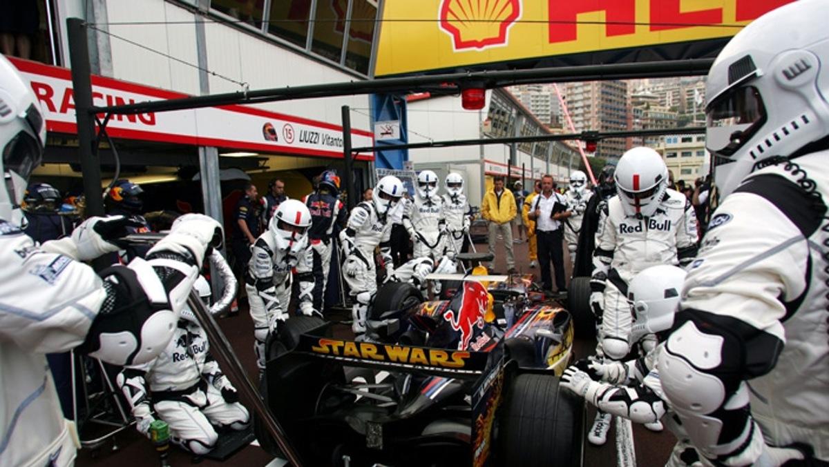 Red Bull Mónaco F1 2005 Star Wars