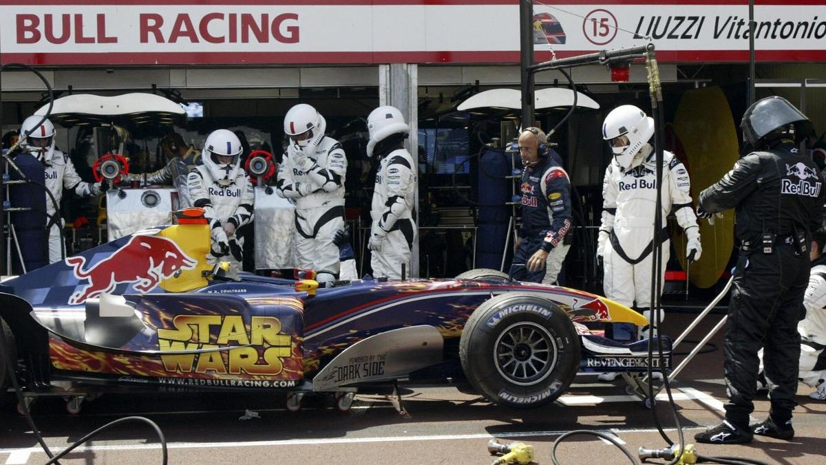 Red Bull-Star Wars en Mónaco 2005