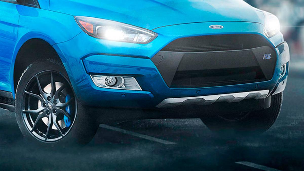 Renders de coches de lujo convertidos en pick-ups: Ford Fiesta RS (I)