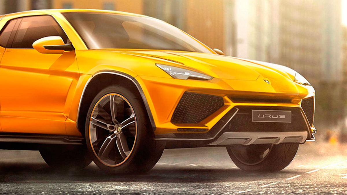 Renders de coches de lujo convertidos en pick-ups: Lamborghini Urus (I)