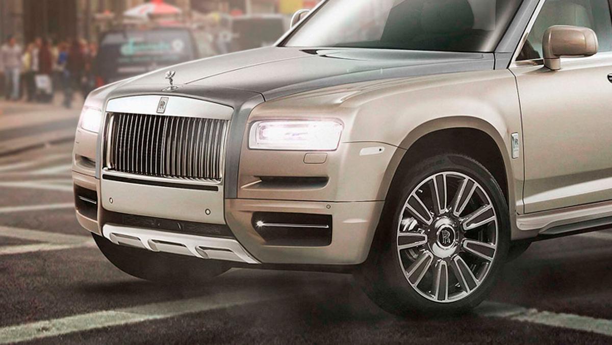 Renders de coches de lujo convertidos en pick-ups: Rolls-Royce Cullinan (I)