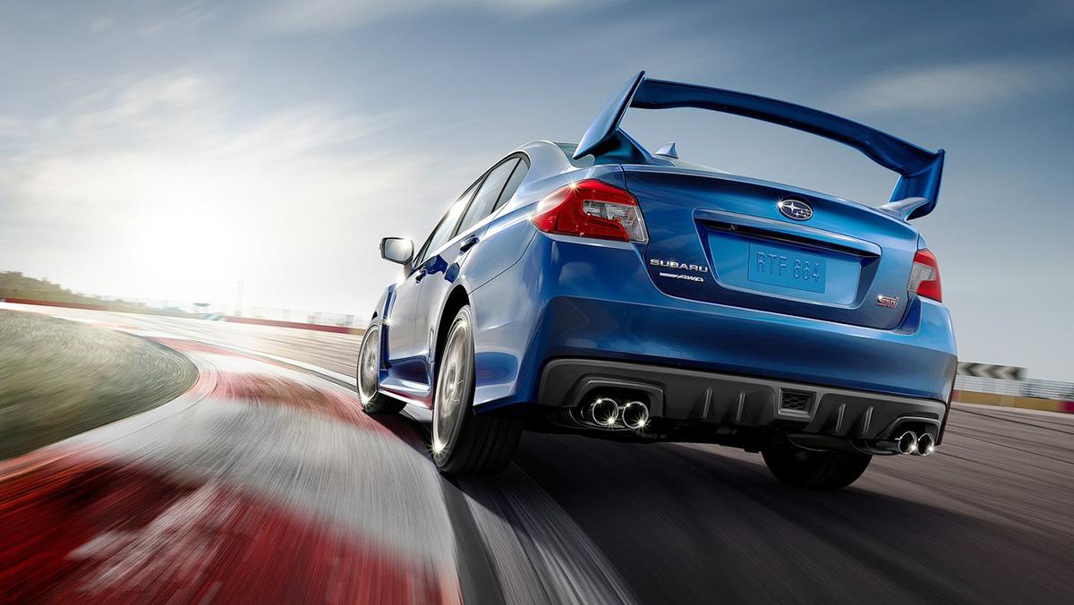 Rivales del Ford Focus RS - Subaru WRX STI