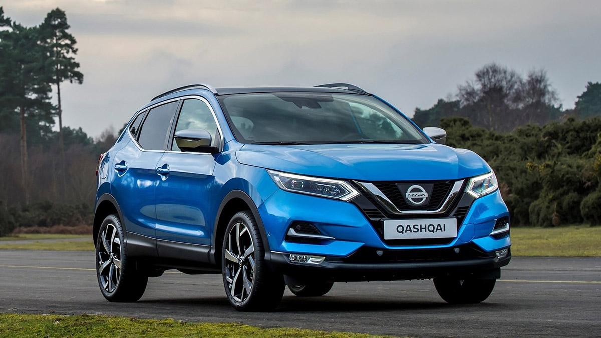 Rivales del Opel Grandland X - Nissan Qashqai