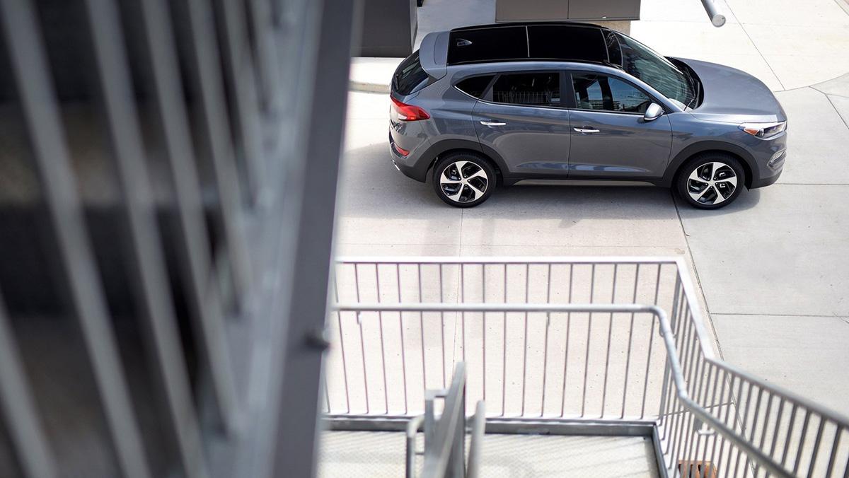 Rivales del Opel Grandland X - Hyundai Tucson