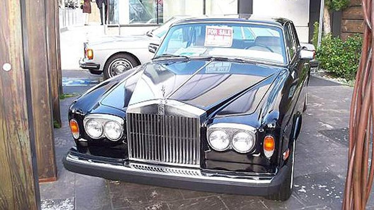 Rolls Corniche Turbo Coupé del1975