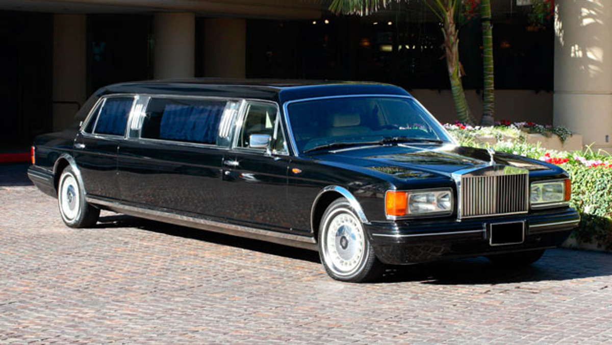 RollsSilver Seraph Limousine
