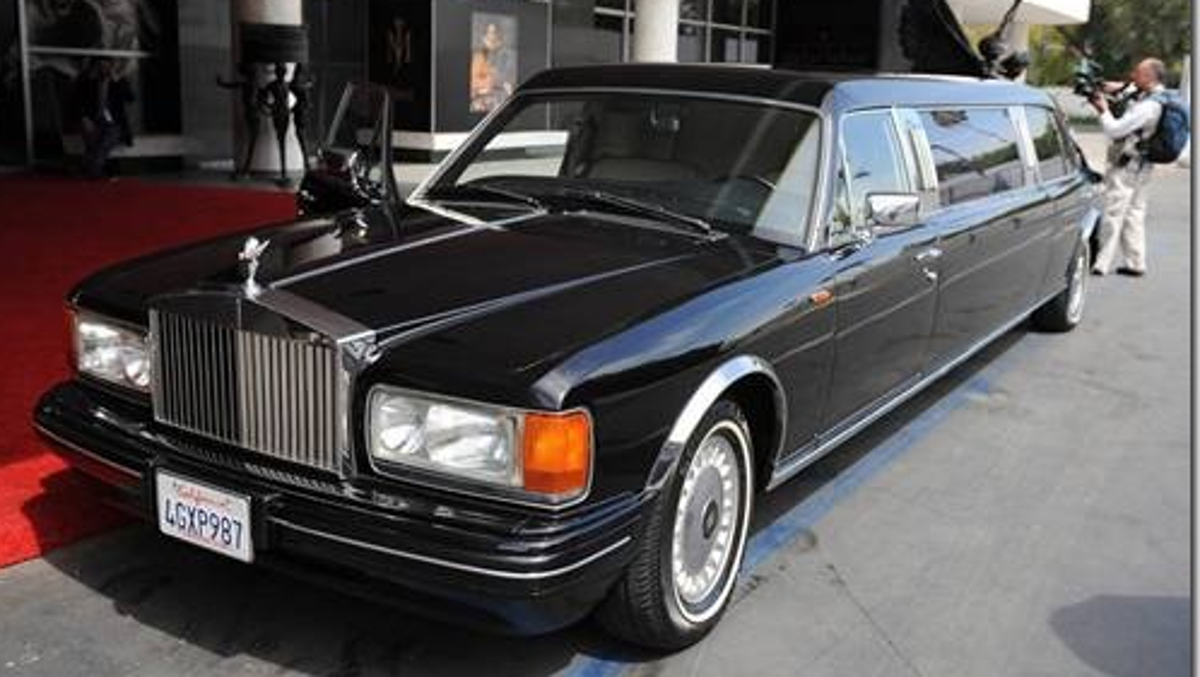 Rolls Silver Spur II Touring Limousine