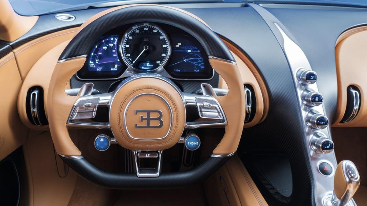 Superdeportivos que deberías conducir antes de morir: Bugatti Chiron (II)