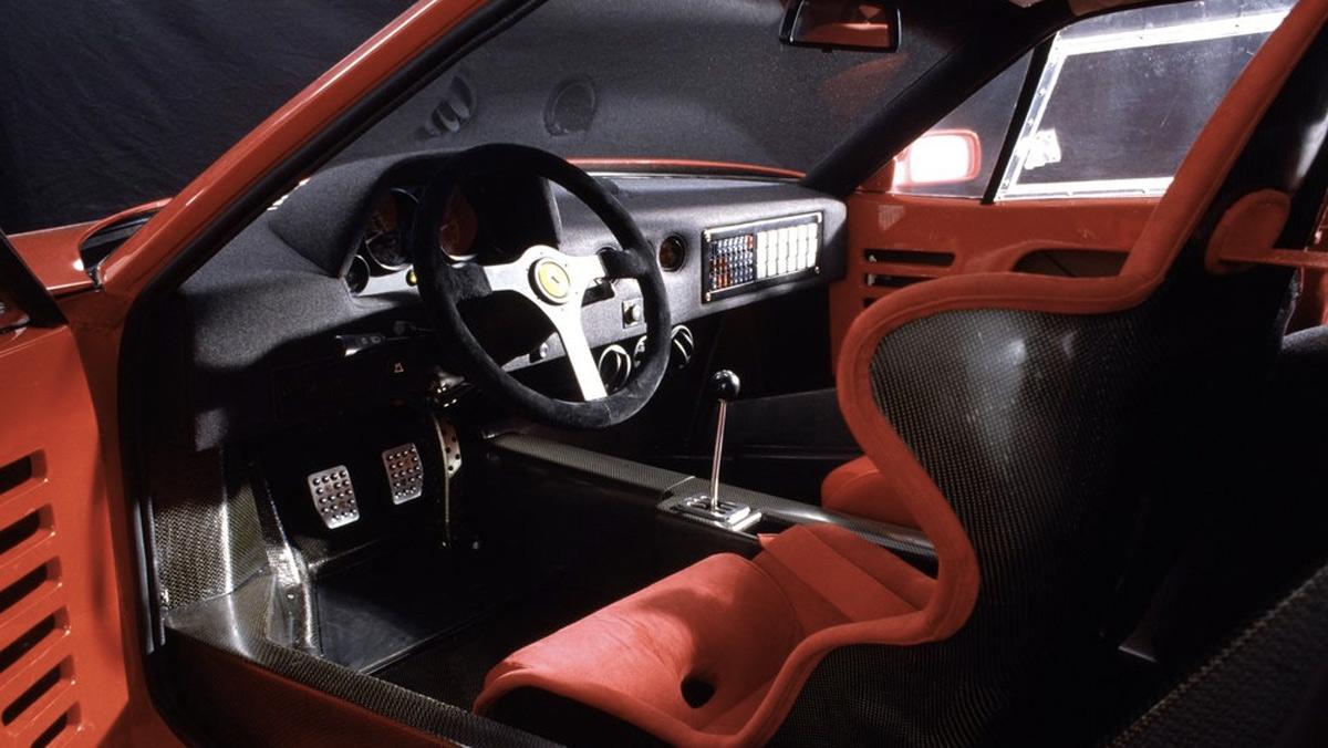 Superdeportivos que deberías conducir antes de morir: Ferrari F40 (II)