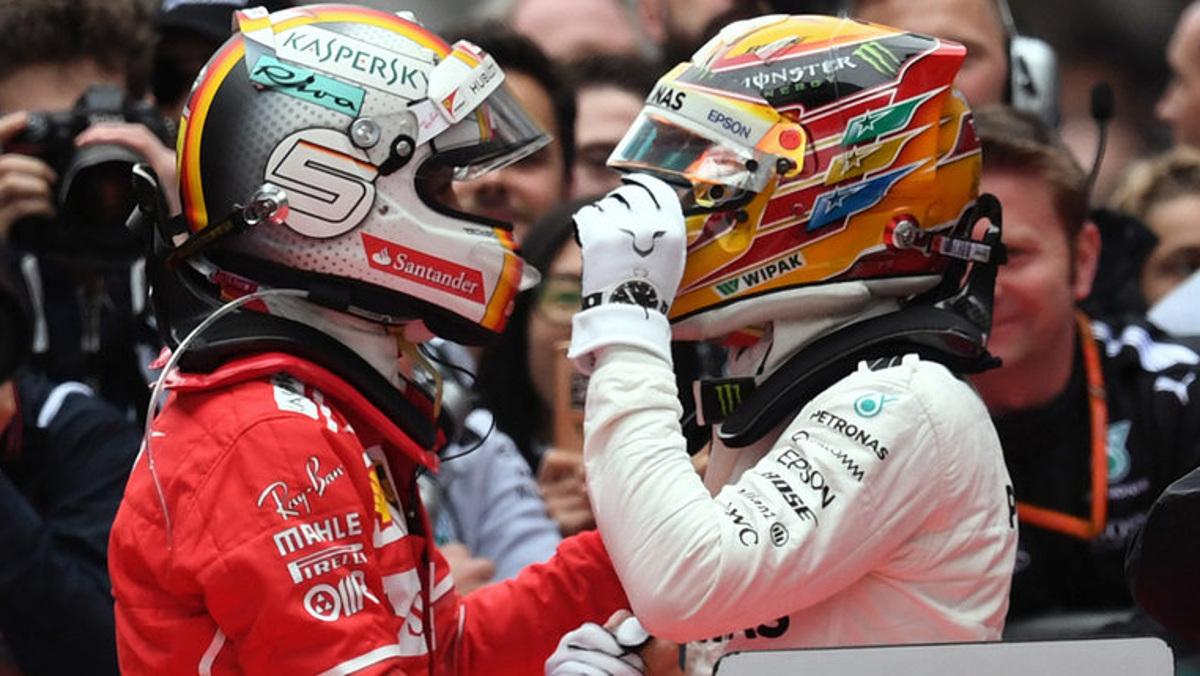 Charlie Whiting Wallpaper: Vettel Pierde La Cabeza Y Se Choca Contra Hamilton En El