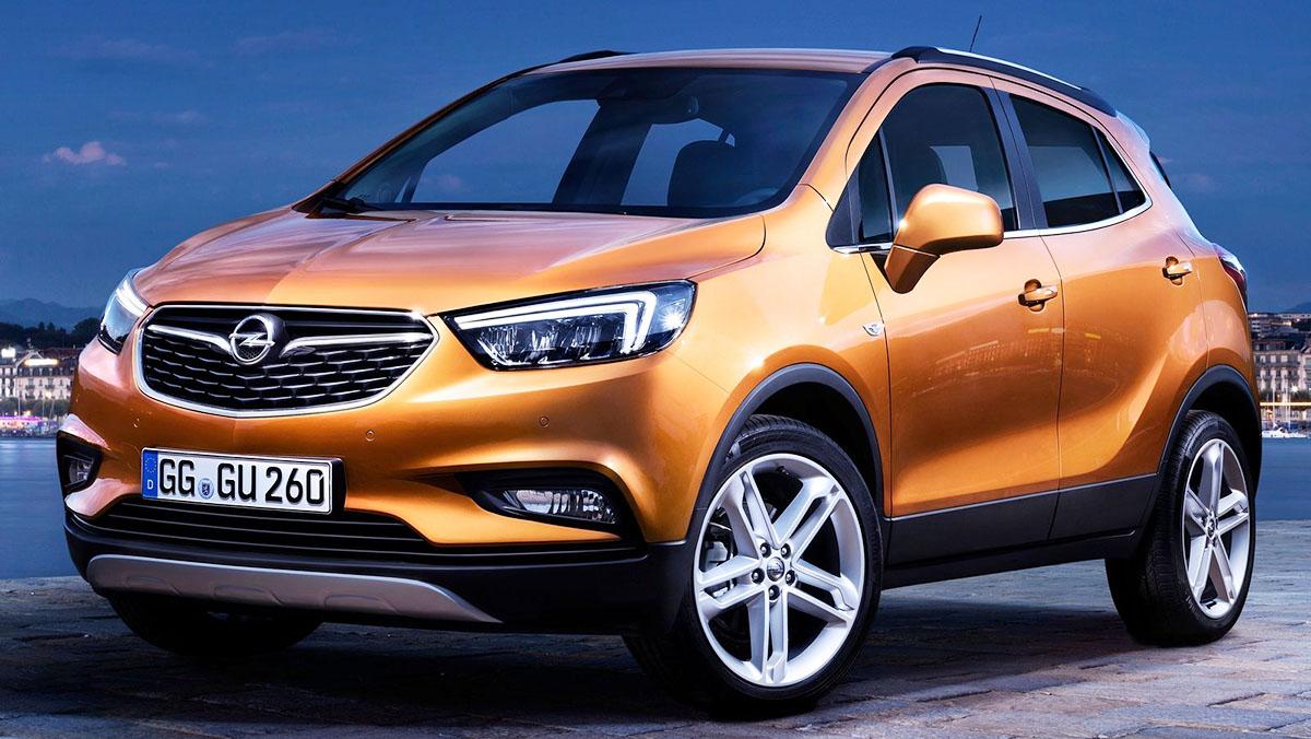 5 rivales del Mitsubishi ASX 2017 - Opel Mokka X