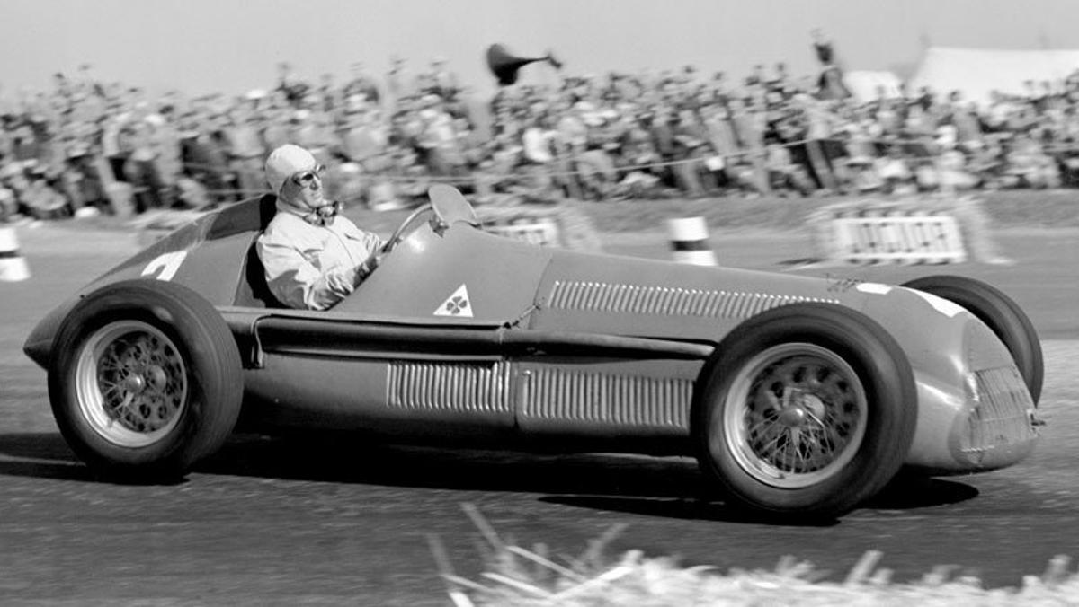 Alfetta Silverstone 1950