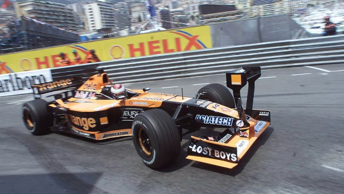 Arrows A22 2001 MONACO jos