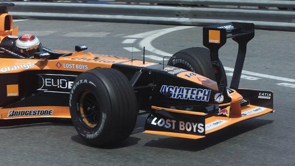 Arrows A22 2001 MONACO