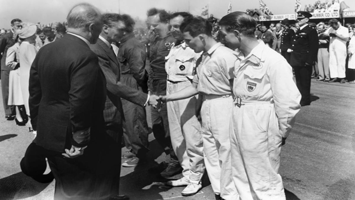 Enrique VI en Silverstone 1950