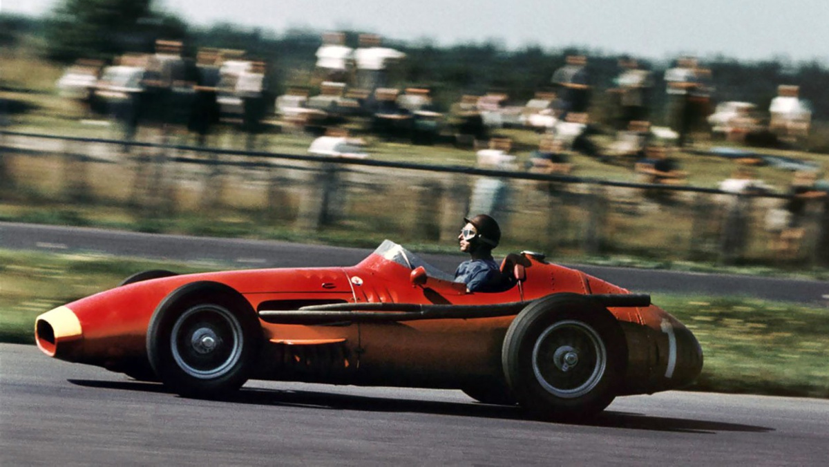 Fangio wins GP 1957