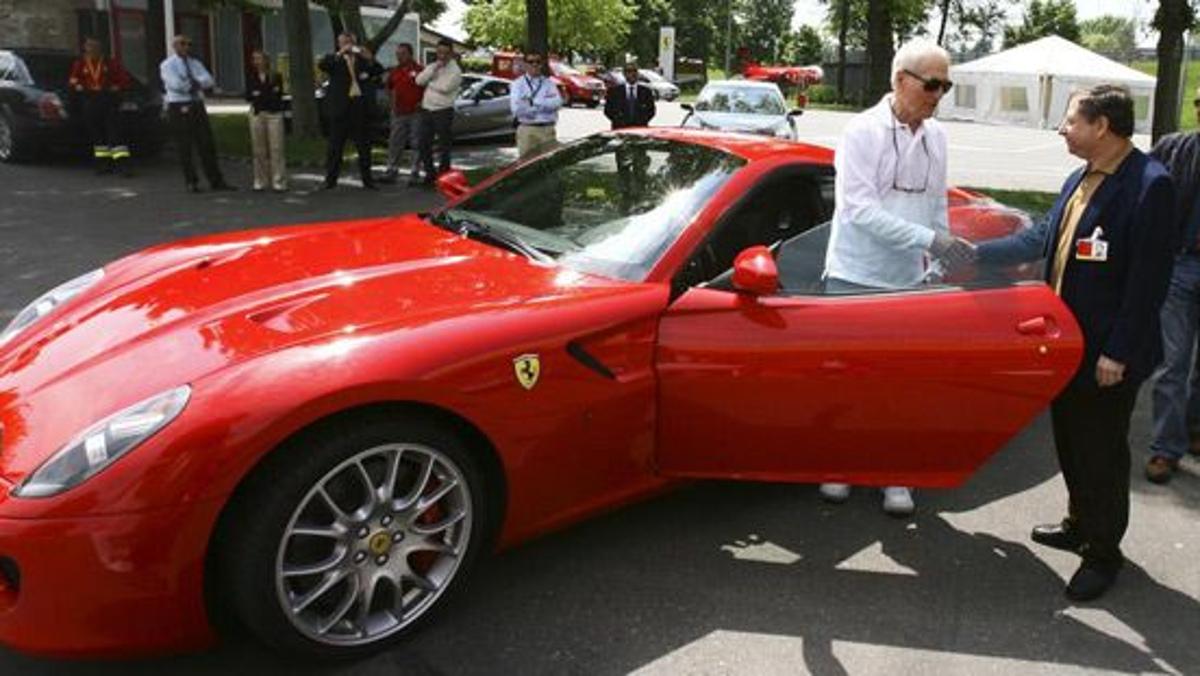 Ferrari 599, Jean Todt y Montezemolo