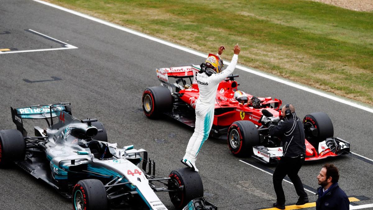 Hamilton es el número 1 en Silverstone F1 2017