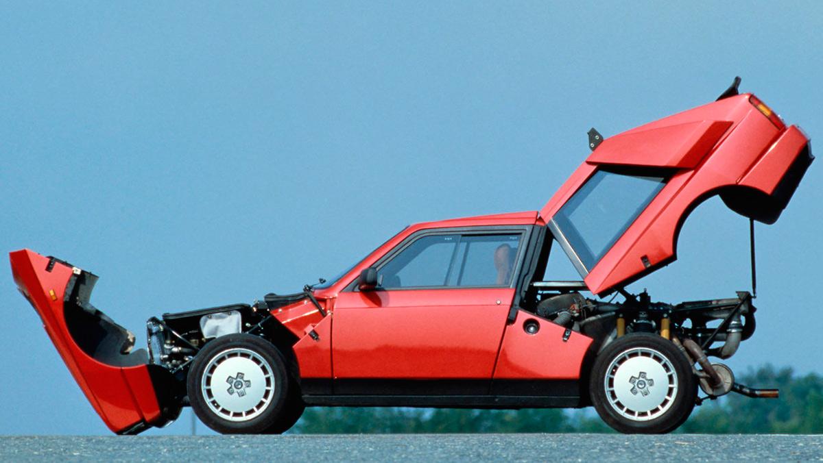 Mejores coches con turbo: Lancia Delta S4 (II)