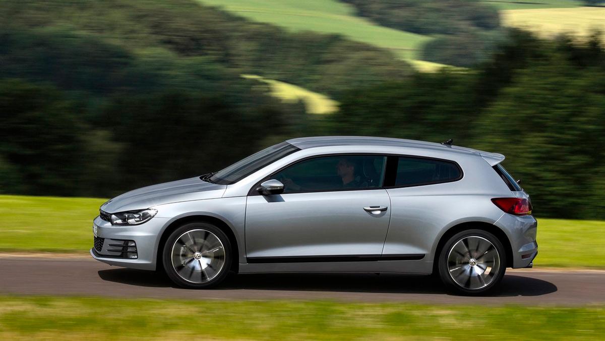 Mejores coches con turbo: Volkswagen Scirocco (II)