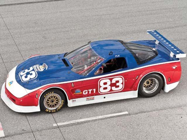 Newman's V8-powered 2002 Chevrolet Corvette last win