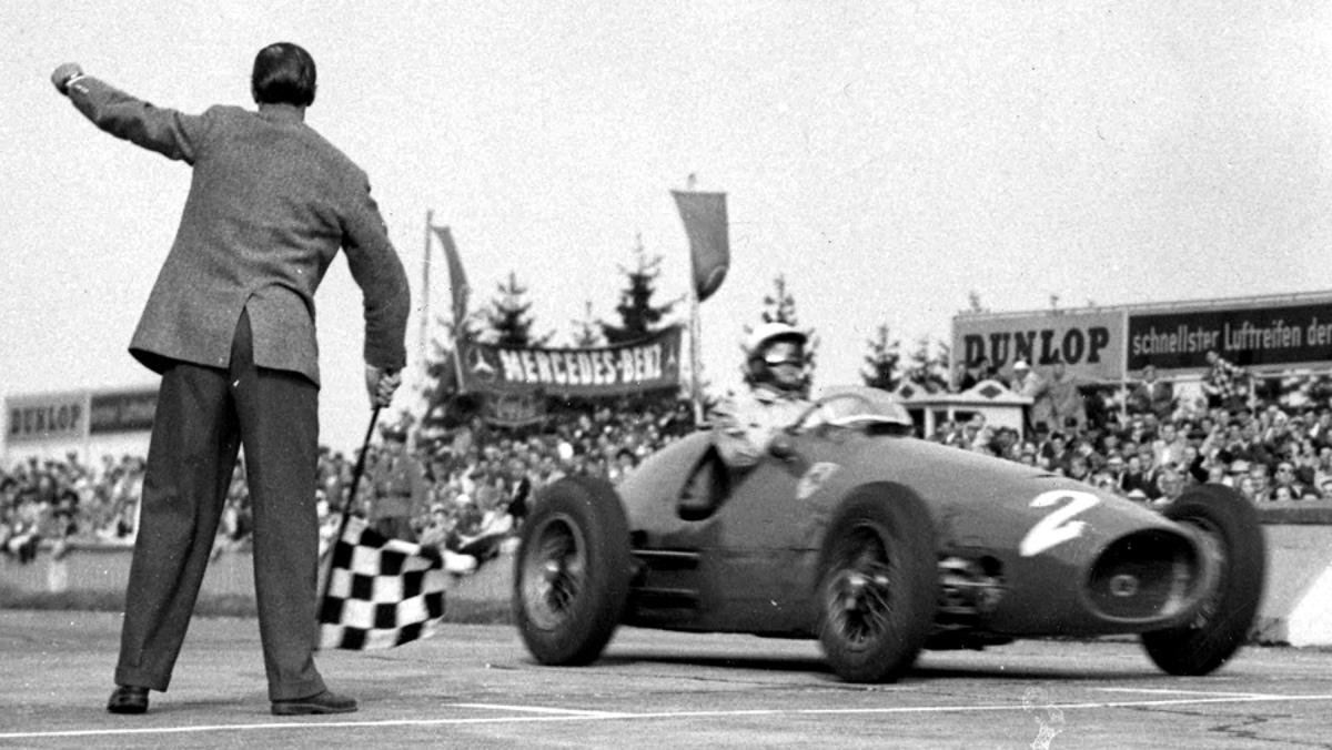 Nino Farina, German GP, Nurburgring, 02 08 1953