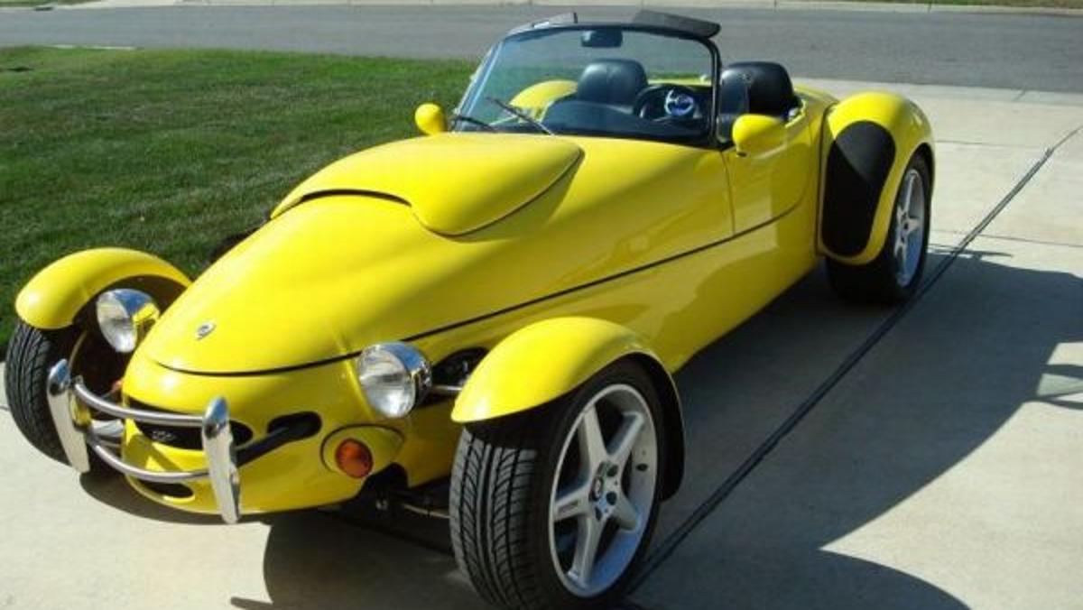 El Panoz AIV Roadster de Tyler