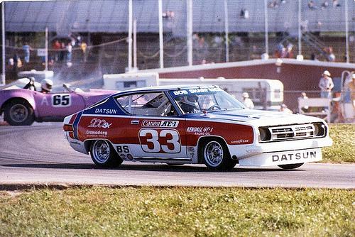 Paul Newman Datsun racing car