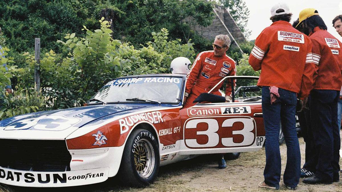 Paul Newman y un Datsun