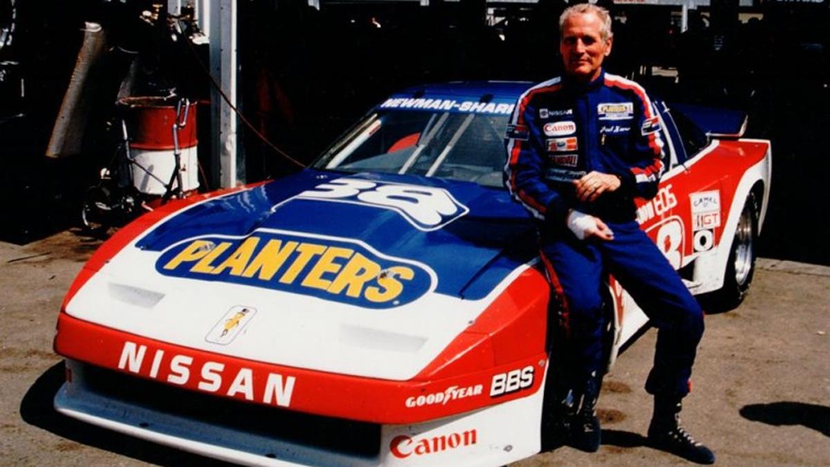 Paul-Newman_Racing Nissan
