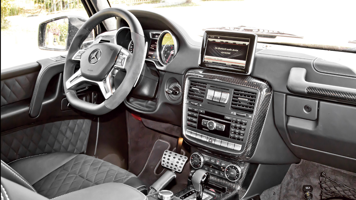 Prueba Brabus G500 4x4² (interior)