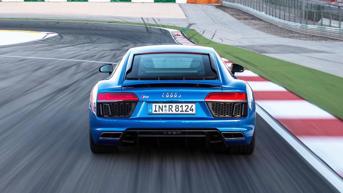 Los rivales del Mercedes-AMG GT - Audi R8
