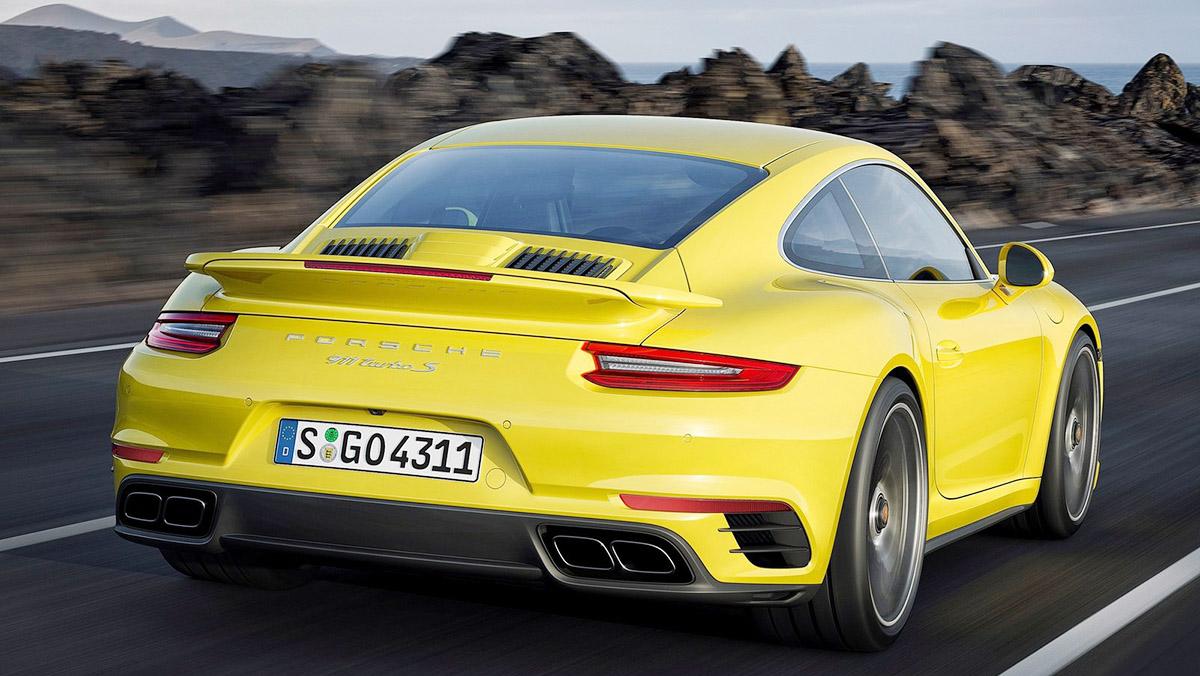 Los rivales del Mercedes-AMG GT - Porsche 911 Turbo S