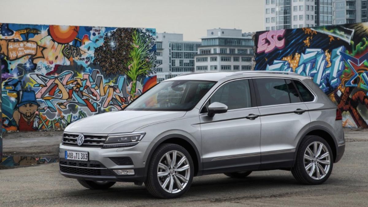 Rivales Mercedes GLA: Volkswagen Tiguan (II)