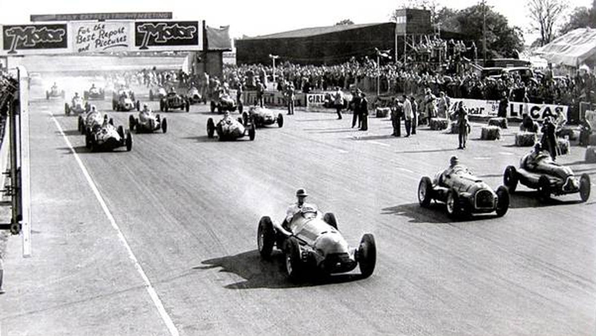 Salida Silverstone 1950