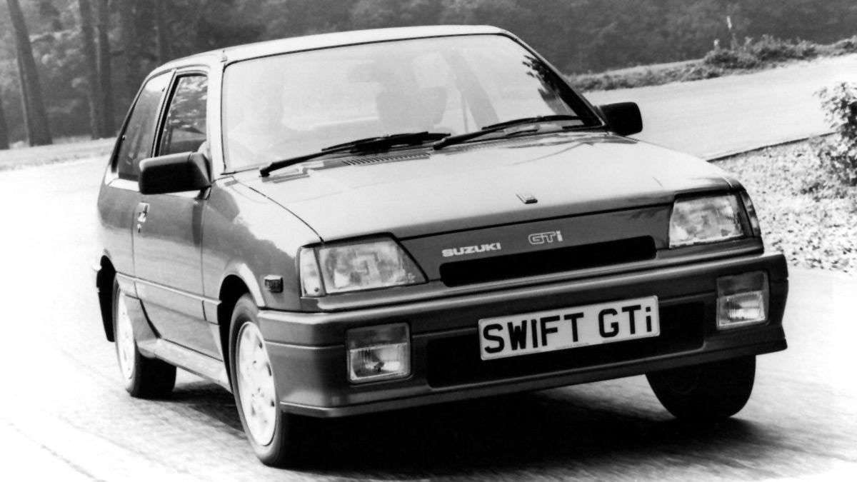 El Suzuki Swift de mediados de los 80 tenía 101 CV y pesaba 750 kilos