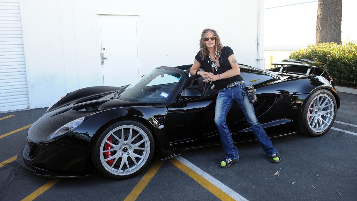 Tayler y su Hennessey Venom GT Spyder