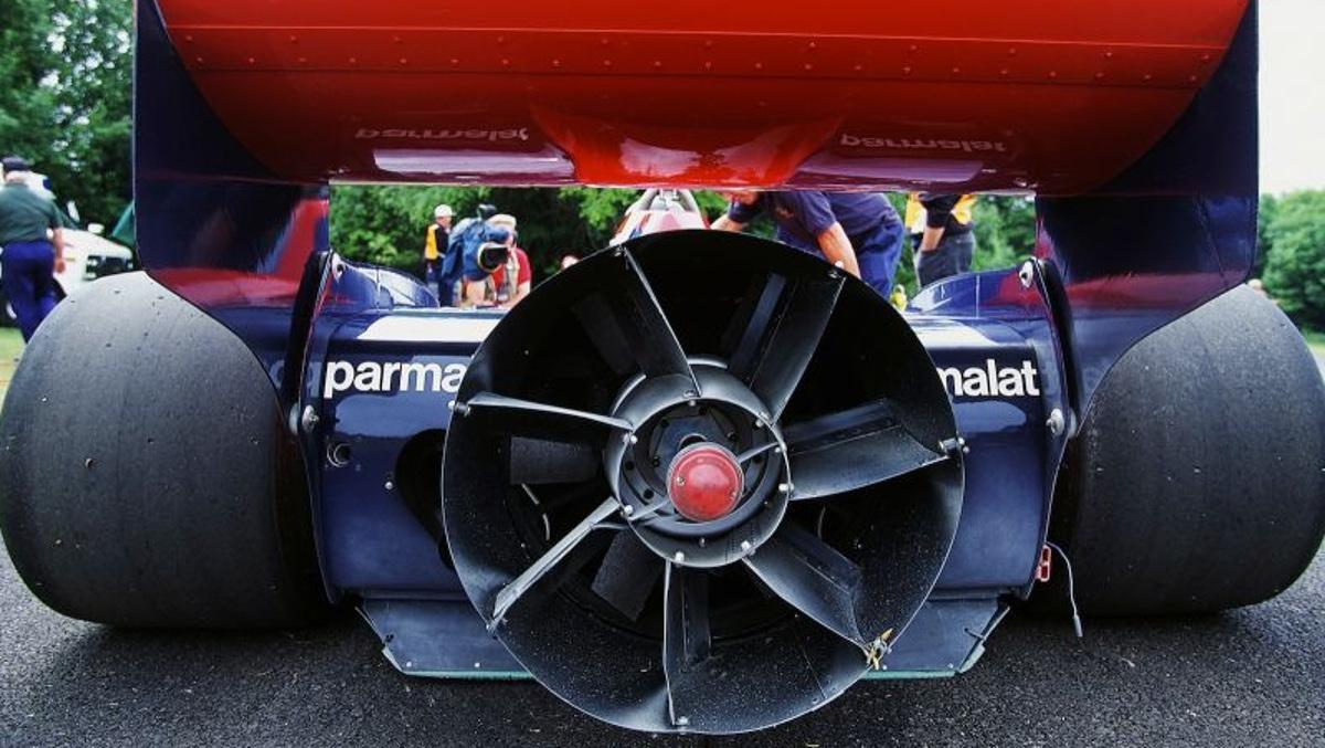 El ventilador del Brabham BT46B