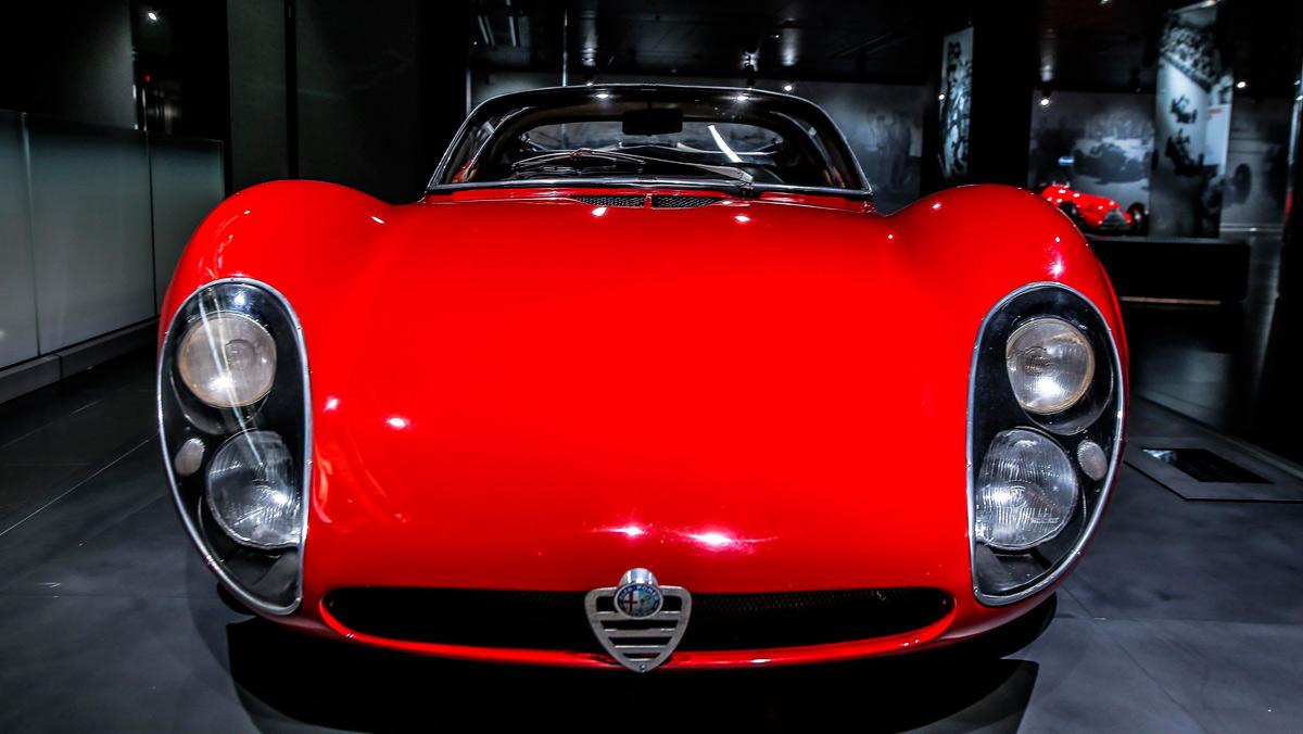 50º aniversario Alfa Romeo 33 Stradale (II)