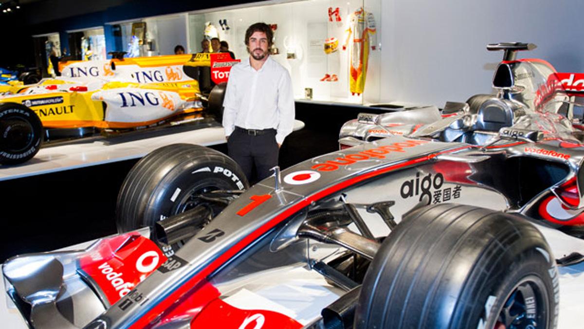 Alonso en su museo